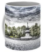 The Pagoda In The Snow Coffee Mug