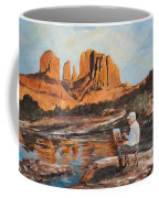 The Painter Woods Coffee Mug