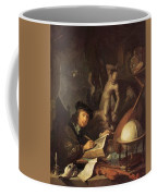 The Painter In His Workshop 1647 Coffee Mug
