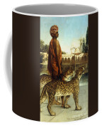 The Palace Guard With Two Leopards Coffee Mug