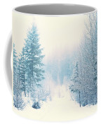 The Pale Kiss Of Winter Coffee Mug
