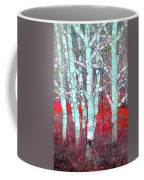 The Pale Trees Of Winter Coffee Mug