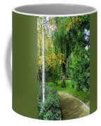 The Park Federico Garcia Lorca Is Situated In The City Of Granada, In Spain. Coffee Mug