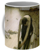 The Parquet Planers - Gustave Caillebotte Coffee Mug