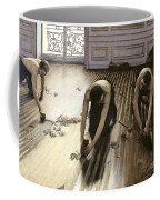 The Parquet Planers Coffee Mug by Gustave Caillebotte