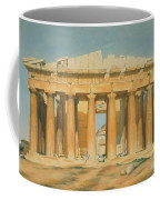 The Parthenon Coffee Mug by Louis Dupre