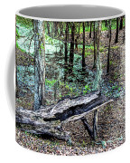 The Path By The Log Coffee Mug