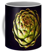 The Patterns Of The Artichoke Coffee Mug