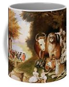 The Peaceable Kingdom Coffee Mug by Edward Hicks