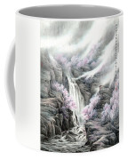 The Peach Blossoms In The Mountains Coffee Mug