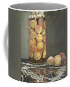 The Peach Glass Coffee Mug