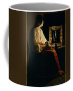 The Penitent Magdalen, Georges De La Tour Coffee Mug