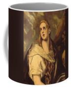 The Penitent Magdalene 1578 Coffee Mug