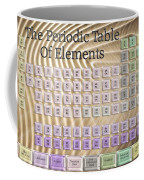 The Periodic Table Of Elements 1 Coffee Mug