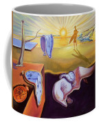 The Persistence Of Memory-amadeus Series  Coffee Mug
