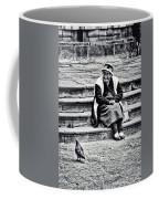 The Peruvian Lady Black And White Coffee Mug