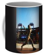 The Phillies - Mike Schmidt Coffee Mug by Bill Cannon