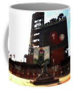 The Phillies - Steve Carlton Coffee Mug by Bill Cannon