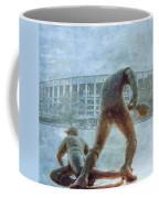 The Phillies At Veterans Stadium Coffee Mug