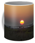 The Pier At Wildwood Crest At Sunrise Coffee Mug