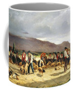 The Pig Market Coffee Mug by Pierre Edmond Alexandre Hedouin