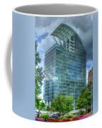 The Pinnacle Reflections Office Buildings Buckhead Atlanta Art Coffee Mug