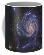 The Pinwheel Galaxy, Also Known As Ngc Coffee Mug