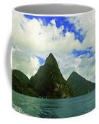 The Pitons Coffee Mug