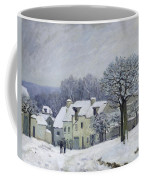 The Place Du Chenil At Marly Le Roi Coffee Mug
