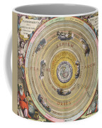 The Planisphere Of Ptolemy, Harmonia Coffee Mug by Science Source