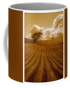 The Ploughed Field Coffee Mug by Mal Bray
