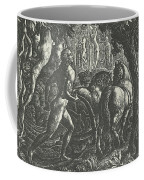 The Ploughman Christian Ploughing The Last Furrow Of Life Coffee Mug
