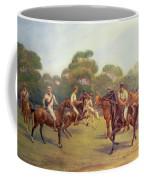 The Polo Match Coffee Mug by C M  Gonne