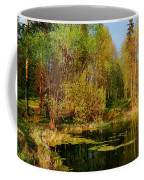 The Pond In The Spring Coffee Mug
