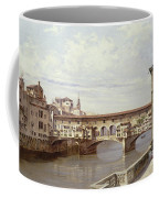 The Pontevecchio - Florence  Coffee Mug by Antonietta Brandeis