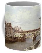 The Pontevecchio - Florence  Coffee Mug