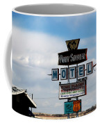 The Pony Soldier Motel On Route 66 Coffee Mug