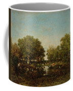 The Pool, Memory Of The Forest Of Chambord Coffee Mug