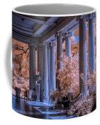 The Porch Of The European Collection Art Gallery At The Huntington Library In Infrared Coffee Mug