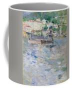The Port At Nice Coffee Mug by Berthe Morisot