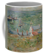 The Port Of Gorey On Jersey Coffee Mug by Berthe Morisot