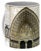 The Portal Of The Last Judgement Of Notre Dame De Paris Coffee Mug by Fabrizio Troiani