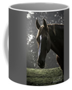 The Portrait Of The Horse Coffee Mug