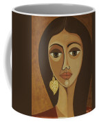 The Portuguese Earring Coffee Mug