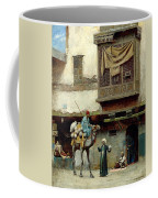 The Pottery Seller In Old City Coffee Mug