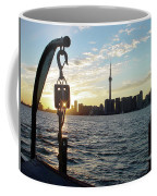 The Precision Of Sunset In The Harbour Coffee Mug