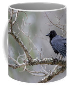 The Preening Crow Coffee Mug