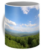 The Presidential Range From The Watchtower At Weeks State Park Coffee Mug
