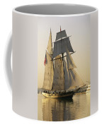 The Pride Of Baltimore Clipper Ship Coffee Mug by George Grall