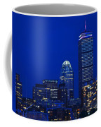 The Pru Lit Up In Red White And Blue For The Fourth Of July Coffee Mug